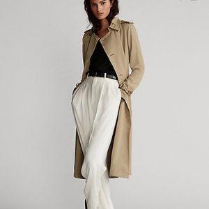 Lauren Ralph Lauren Cotton-Blend Trench Coat -